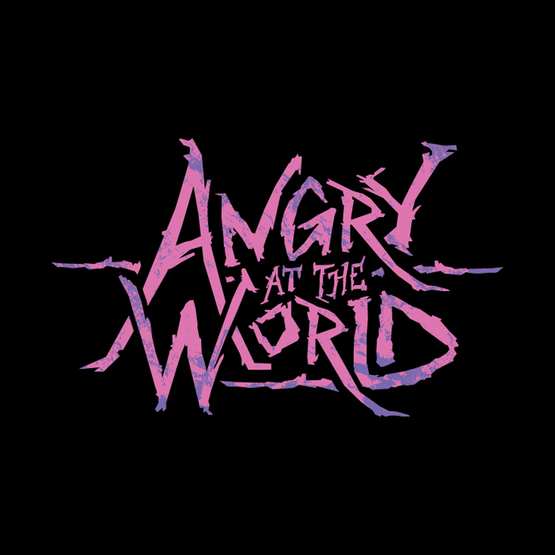 Design of Angry at the World's Logo