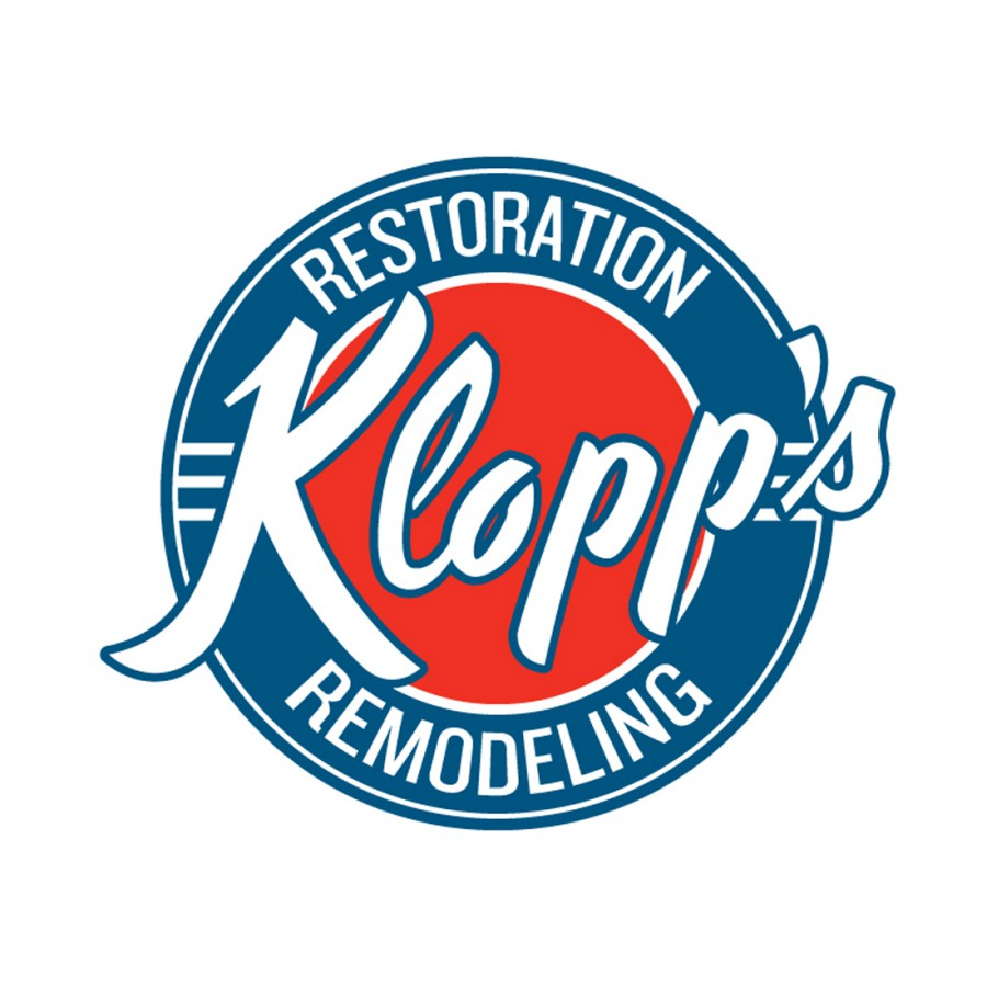 Design of Klopp's Restoration and Remodeling Logo