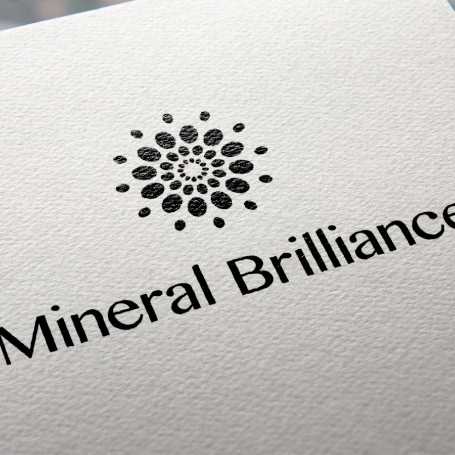 Design of Mineral Brilliance's Logo